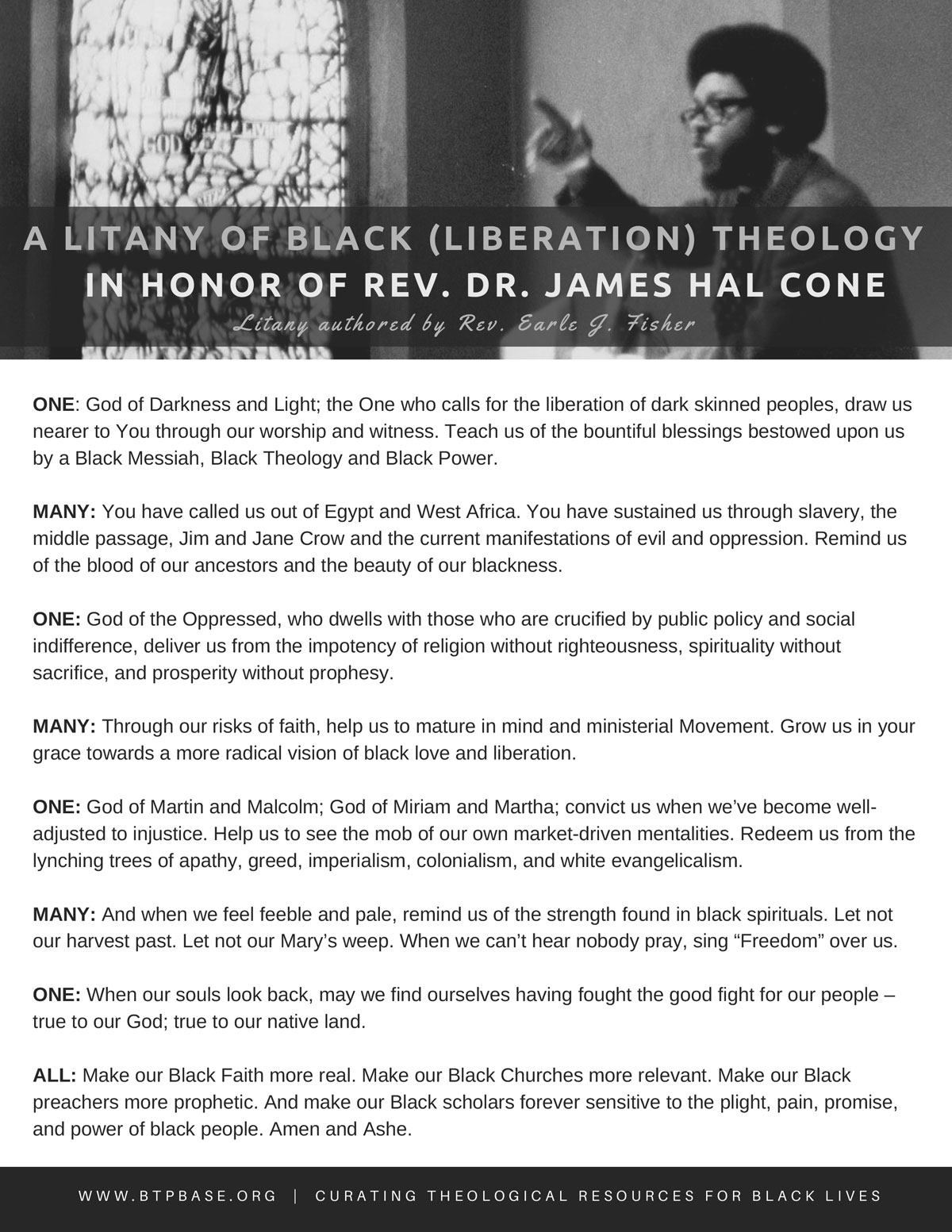 james cone god of the oppressed